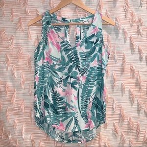 Old Navy Small Tropical Tank Top